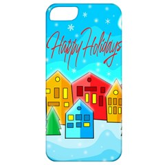 Christmas Magical Landscape  Apple Iphone 5 Classic Hardshell Case