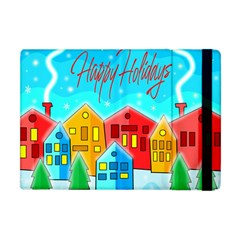 Christmas Magical Landscape  Apple Ipad Mini Flip Case by Valentinaart