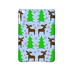 Reindeer And Xmas Trees  Ipad Mini 2 Hardshell Cases by Valentinaart