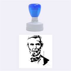 Abraham Lincoln Rubber Round Stamps (medium) by bhazkaragriz