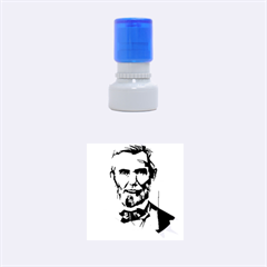 Abraham Lincoln Rubber Round Stamps (small) by bhazkaragriz