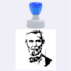 Abraham Lincoln Rubber Round Stamps (large) by bhazkaragriz