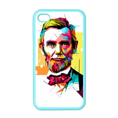 Abraham Lincoln Apple Iphone 4 Case (color)