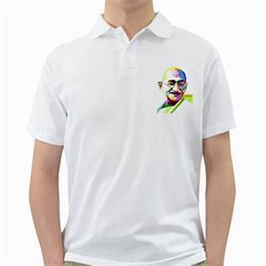 Ghandi Golf Shirts by bhazkaragriz