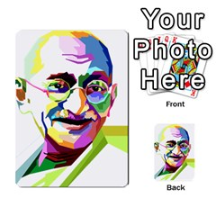 Ghandi Multi Purpose Cards (rectangle)  by bhazkaragriz