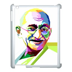 Ghandi Apple Ipad 3/4 Case (white) by bhazkaragriz
