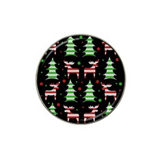 Reindeer Decorative Pattern Hat Clip Ball Marker (10 Pack) by Valentinaart