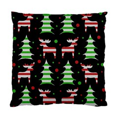Reindeer Decorative Pattern Standard Cushion Case (one Side) by Valentinaart