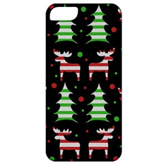 Reindeer Decorative Pattern Apple Iphone 5 Classic Hardshell Case