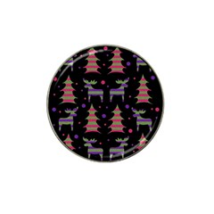 Reindeer Magical Pattern Hat Clip Ball Marker (10 Pack) by Valentinaart