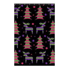 Reindeer Magical Pattern Shower Curtain 48  X 72  (small)  by Valentinaart