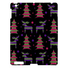 Reindeer Magical Pattern Apple Ipad 3/4 Hardshell Case by Valentinaart