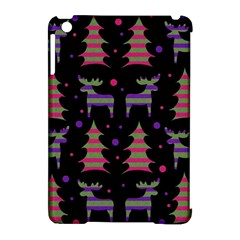 Reindeer Magical Pattern Apple Ipad Mini Hardshell Case (compatible With Smart Cover) by Valentinaart