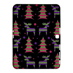 Reindeer Magical Pattern Samsung Galaxy Tab 4 (10 1 ) Hardshell Case