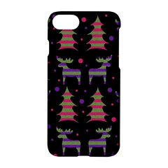 Reindeer Magical Pattern Apple Iphone 7 Hardshell Case by Valentinaart