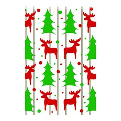 Reindeer Elegant Pattern Shower Curtain 48  X 72  (small)  by Valentinaart