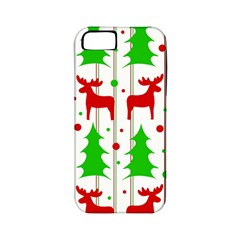 Reindeer Elegant Pattern Apple Iphone 5 Classic Hardshell Case (pc+silicone) by Valentinaart