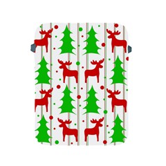 Reindeer Elegant Pattern Apple Ipad 2/3/4 Protective Soft Cases by Valentinaart