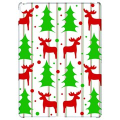 Reindeer Elegant Pattern Apple Ipad Pro 12 9   Hardshell Case