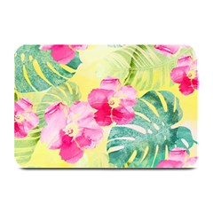 Tropical Dream Hibiscus Pattern Plate Mats by DanaeStudio