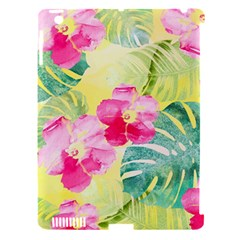 Tropical Dream Hibiscus Pattern Apple Ipad 3/4 Hardshell Case (compatible With Smart Cover) by DanaeStudio