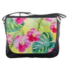 Tropical Dream Hibiscus Pattern Messenger Bags
