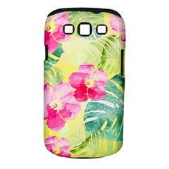 Tropical Dream Hibiscus Pattern Samsung Galaxy S Iii Classic Hardshell Case (pc+silicone)