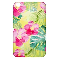 Tropical Dream Hibiscus Pattern Samsung Galaxy Tab 3 (8 ) T3100 Hardshell Case