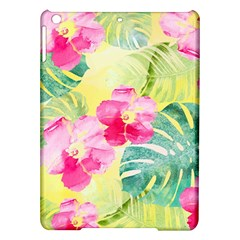 Tropical Dream Hibiscus Pattern Ipad Air Hardshell Cases by DanaeStudio