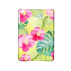 Tropical Dream Hibiscus Pattern Ipad Mini 2 Hardshell Cases by DanaeStudio