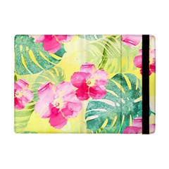 Tropical Dream Hibiscus Pattern Ipad Mini 2 Flip Cases by DanaeStudio