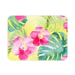 Tropical Dream Hibiscus Pattern Double Sided Flano Blanket (mini)  by DanaeStudio