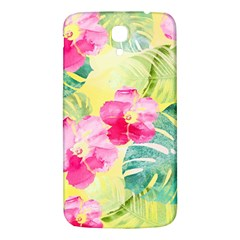 Tropical Dream Hibiscus Pattern Samsung Galaxy Mega I9200 Hardshell Back Case by DanaeStudio