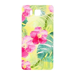 Tropical Dream Hibiscus Pattern Samsung Galaxy Alpha Hardshell Back Case by DanaeStudio