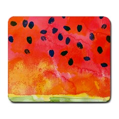 Abstract Watermelon Large Mousepads by DanaeStudio