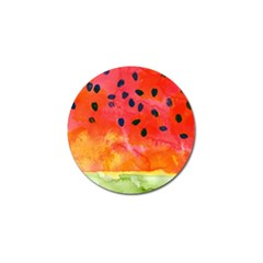Abstract Watermelon Golf Ball Marker by DanaeStudio