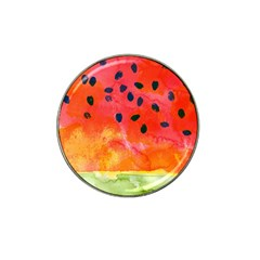 Abstract Watermelon Hat Clip Ball Marker (10 Pack) by DanaeStudio