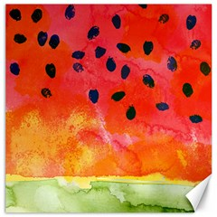 Abstract Watermelon Canvas 20  X 20   by DanaeStudio