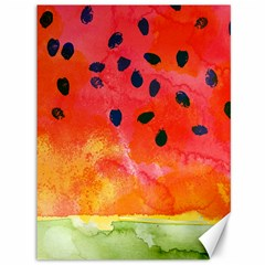 Abstract Watermelon Canvas 36  X 48   by DanaeStudio