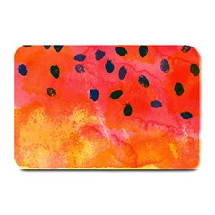Abstract Watermelon Plate Mats by DanaeStudio