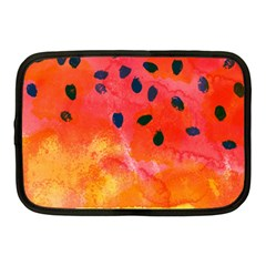 Abstract Watermelon Netbook Case (medium)