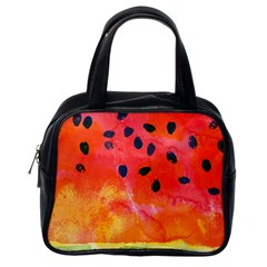 Abstract Watermelon Classic Handbags (one Side) by DanaeStudio