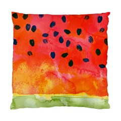 Abstract Watermelon Standard Cushion Case (one Side) by DanaeStudio