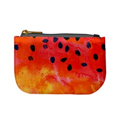Abstract Watermelon Mini Coin Purses by DanaeStudio