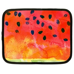 Abstract Watermelon Netbook Case (xxl)  by DanaeStudio