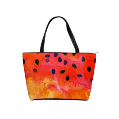 Abstract Watermelon Shoulder Handbags by DanaeStudio