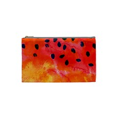 Abstract Watermelon Cosmetic Bag (small)