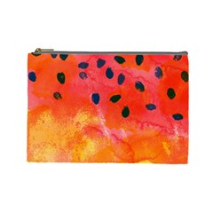 Abstract Watermelon Cosmetic Bag (large)  by DanaeStudio