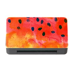 Abstract Watermelon Memory Card Reader With Cf by DanaeStudio
