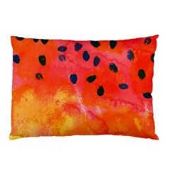 Abstract Watermelon Pillow Case (two Sides)